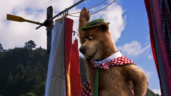 Il protagonista del film Yogi Bear 3D