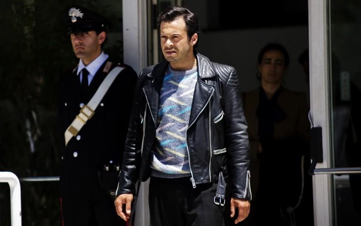 Mauro Meconi nel nono episodio di Romanzo Criminale 2