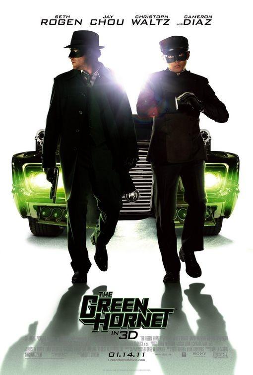Nuovo poster per il film The Green Hornet