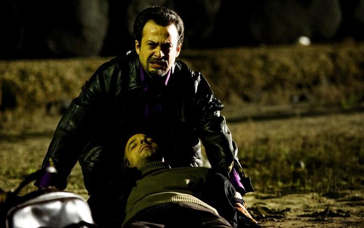 Riccardo De Filippis e Mauro Meconi nell'ultimo episodio di Romanzo Criminale 2