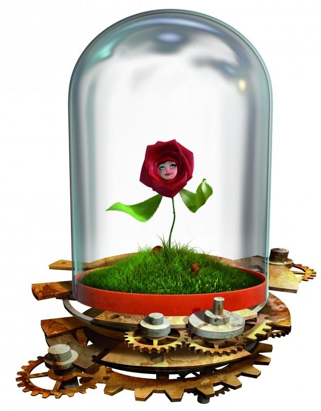 Un'immagine promozionale di Rosa dalla serie Il Piccolo Principe