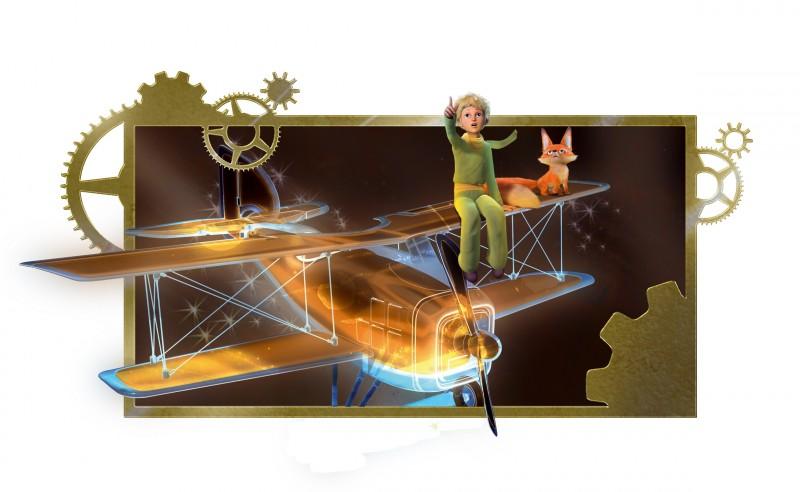 Una prima immagine della serie d'animazione Il Piccolo Principe