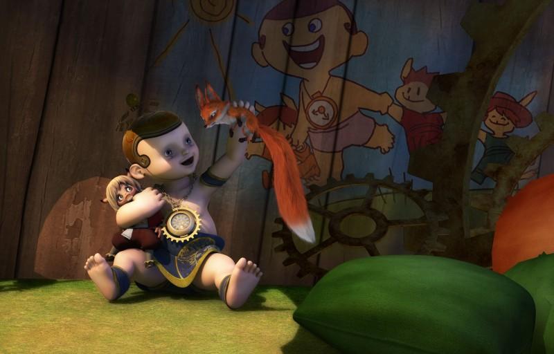 Una scena della serie animata Il Piccolo Principe