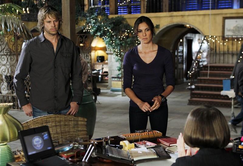 Eric Christian Olsen e Daniela Ruah nell'episodio Disorder di NCIS: Los Angeles