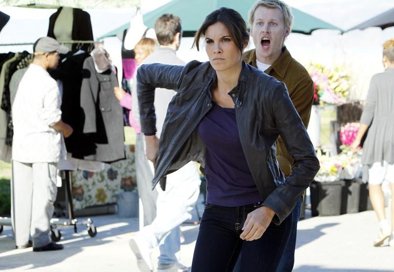 Kensi Blye (Daniela Ruah) e Lance Talbot (David Hoflin) nell'episodio Disorder di NCIS: Los Angeles