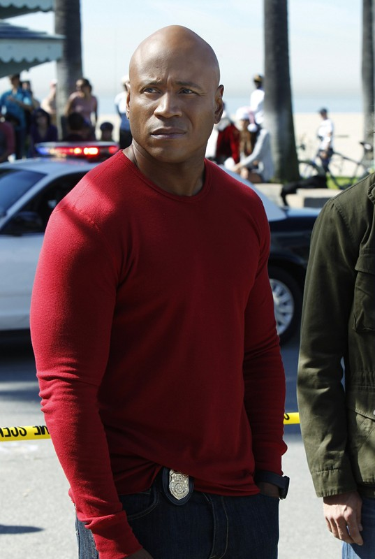 Sam Hanna (LL Cool J) nell'episodio Disorder di NCIS: Los Angeles