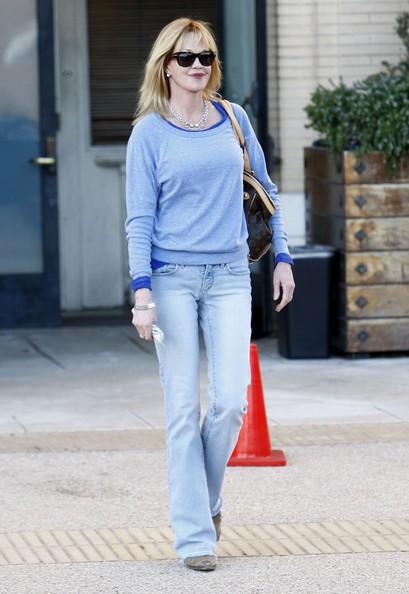Melanie Griffith fa shopping presso il Barneys New York di Beverly Hills