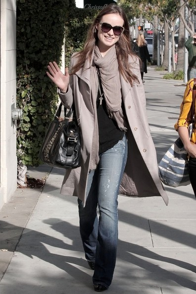 Olivia Wilde in giro a Beverly Hills