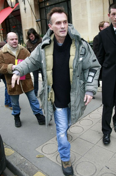Robert Knepper in giro a Parigi