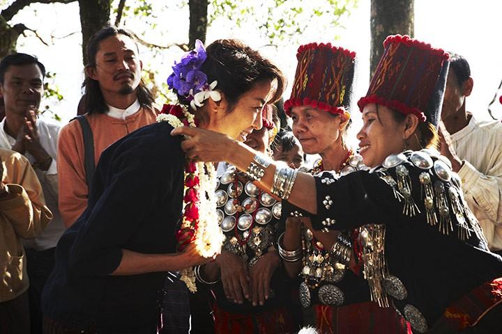 Ancora Michelle Yeoh in una scena di The Lady