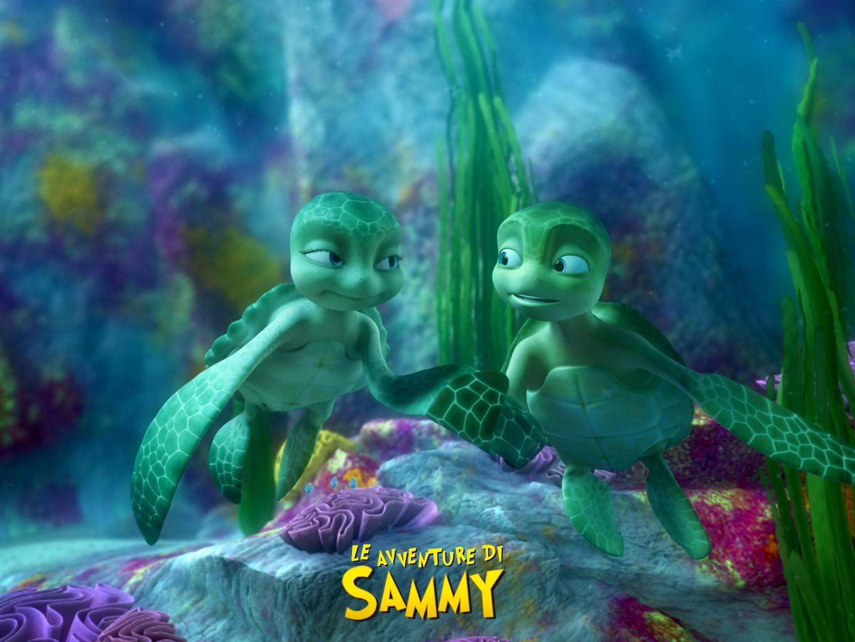 Il poster di Sammy e Shelly da Le avventure di Sammy - Il passaggio segreto