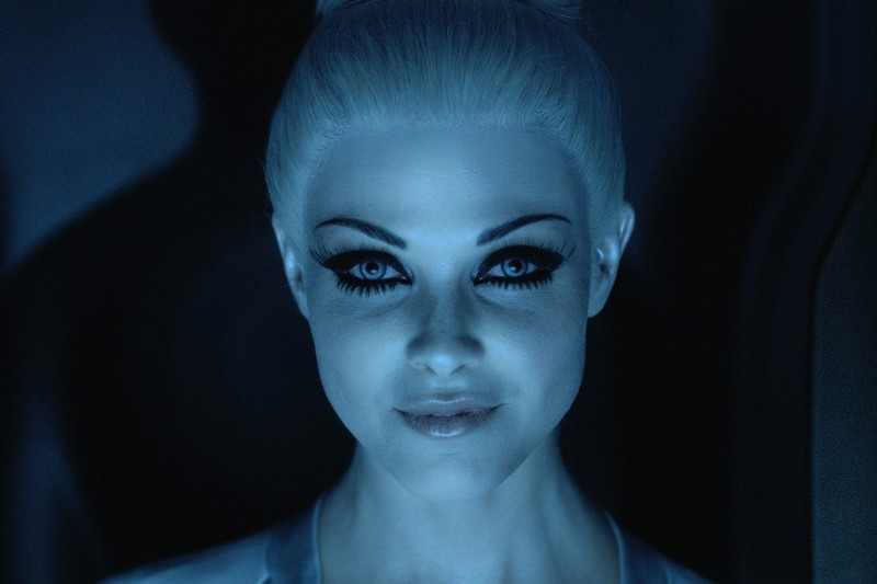 La bella Beau Garrett nello sci-fi Tron Legacy