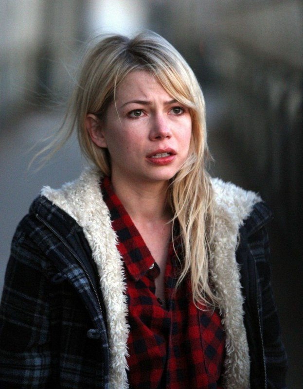 Michelle Williams in un'immagine del film Blue Valentine