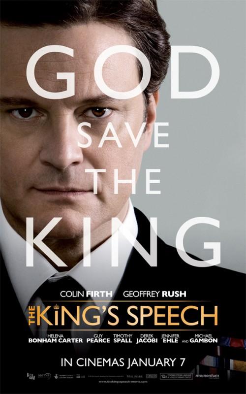 Poster del film The King\'s Speech - Il discorso del Re