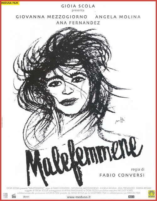 La locandina di Malefemmene