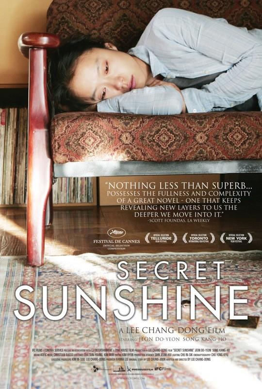 Locandina americana di Secret Sunshine