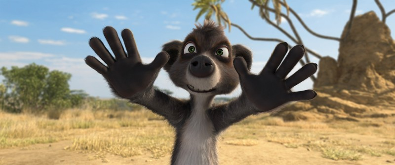 Billy, un dispettosissimo lemure del film Animals United