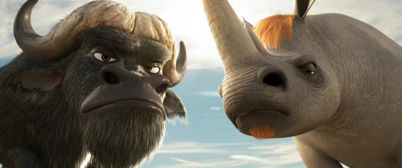 Chino e Biggy nel film Animals United
