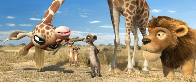 I simpatici protagonisti del film Animals United