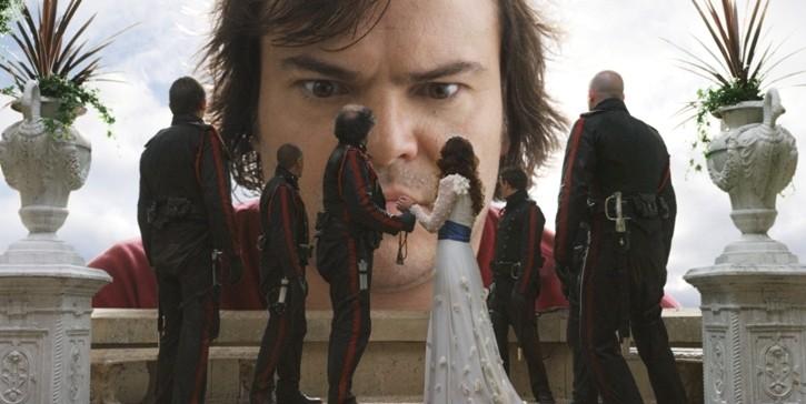 Jack Black, maestoso protagonista del film I fantastici viaggi di Gulliver in 3D