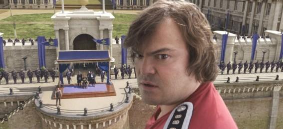 Jack Black nel film I fantastici viaggi di Gulliver in 3D