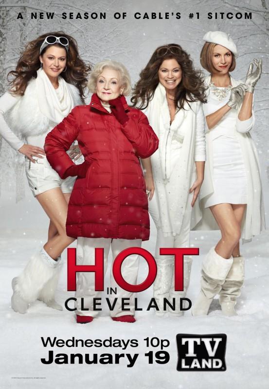 Nuovo poster della serie Hot in Cleveland