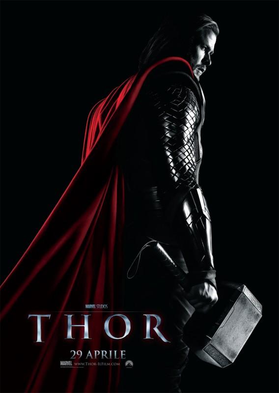 Poster italiano di Thor