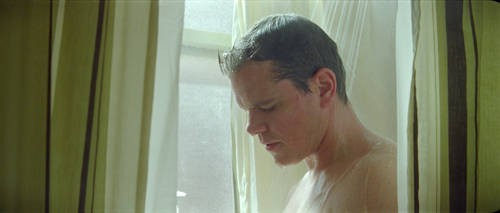 Un'immagine di Matt Damon dal film Hereafter