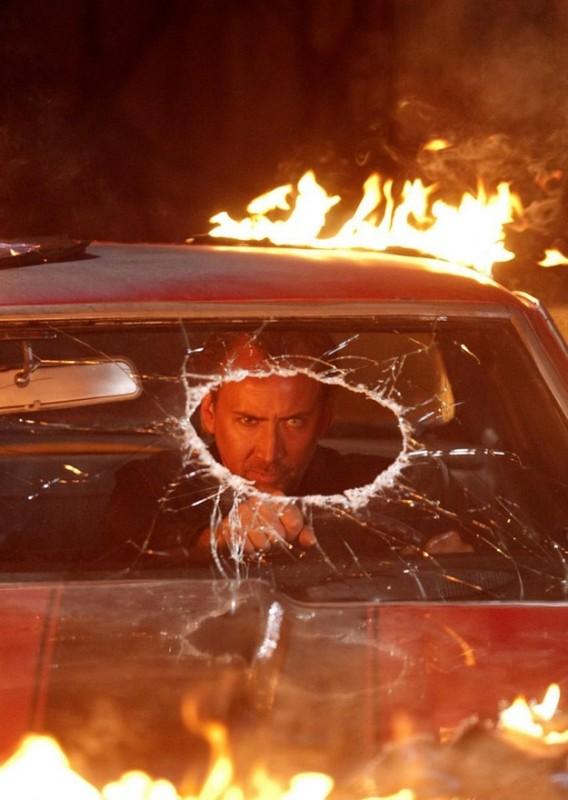 Un minaccioso Nicolas Cage in Drive Angry 3D