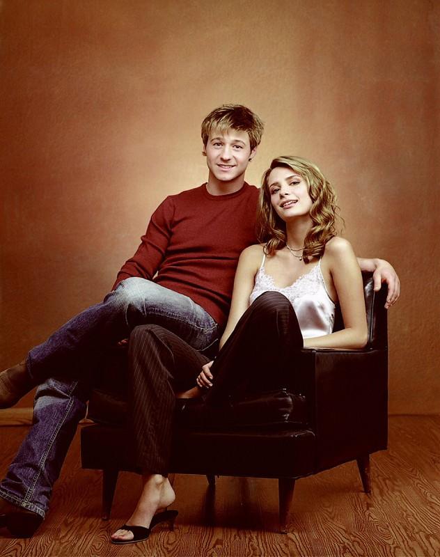 Benjamin McKenzie e Mischa Barton per la serie The O.C.