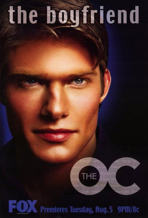 Un character poster di Chris Carmack per la prima stagione di The O.C.