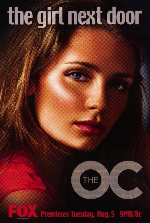 Un character poster di Mischa Barton per la prima stagione di The O.C.