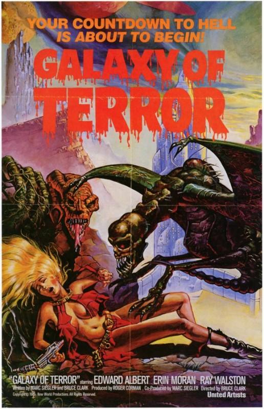 Locandina del film Il pianeta del terrore