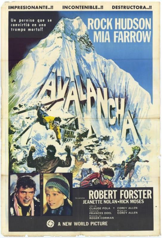 Locandina del film Valanga