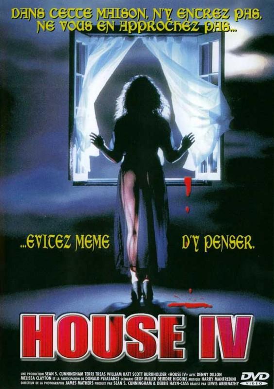 Locandina francese del film Chi è sepolto in quella casa ?