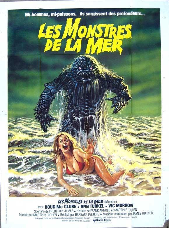 Locandina francese del film Monster - Esseri ignoti dai profondi abissi