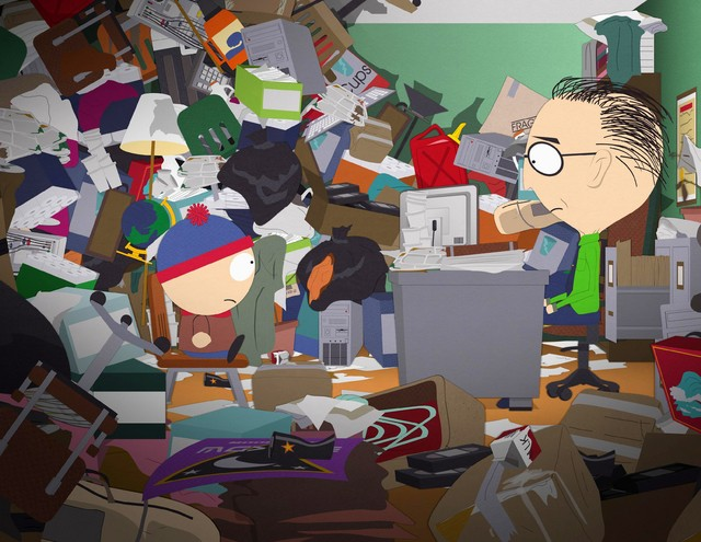 Mackey e Stan in South Park nell'episodio Insheeption