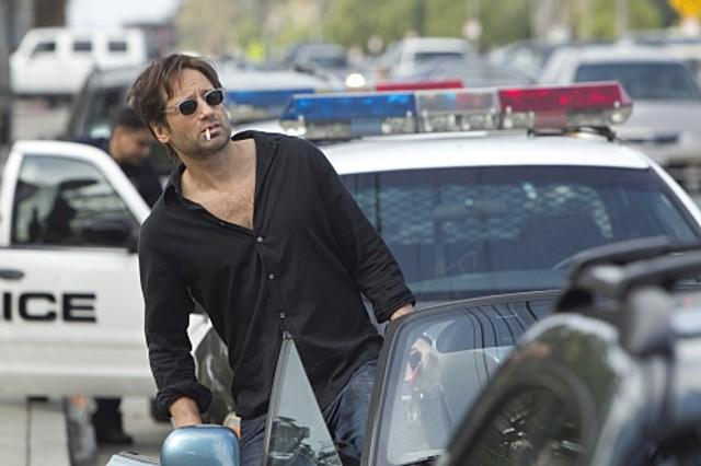 David Duchovny nell'episodio Exile on Main St., premiere della stagione 4 di Californication