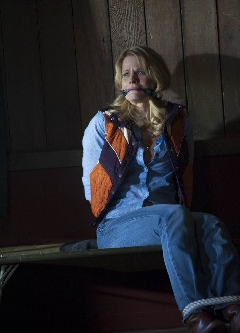 Joelle Carter in una scena dell'episodio Bulletville di Justified