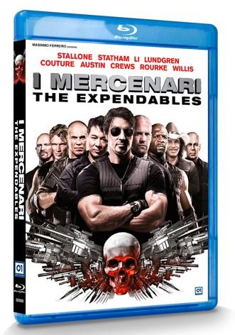 La copertina di I mercenari - The Expendables (blu-ray)