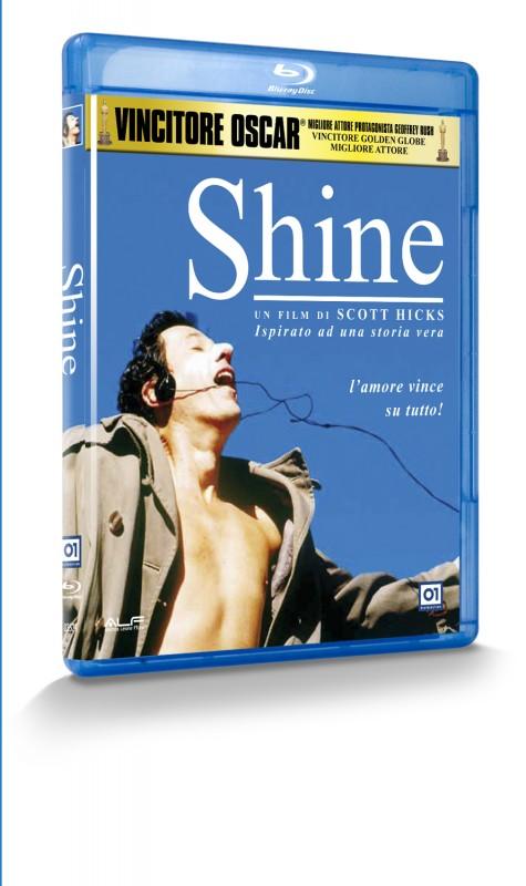 La copertina di Shine (blu-ray)