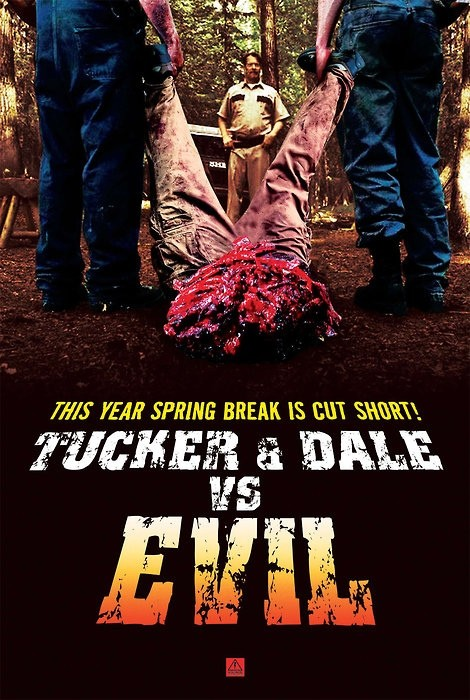 La locandina di Tucker & Dale vs Evil