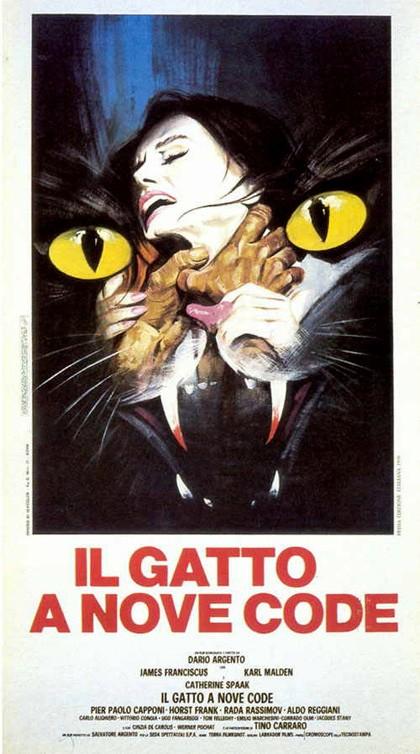Locandina del film Il gatto a nove code ( 1971 )