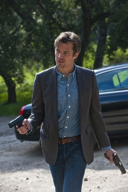 Timothy Olyphant nell'episodio Bulletville di Justified