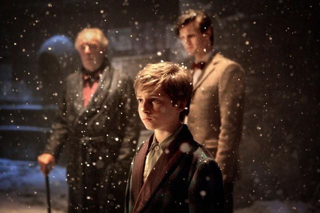 Una scena dello speciale natalizio A Christmas Carol di Doctor Who