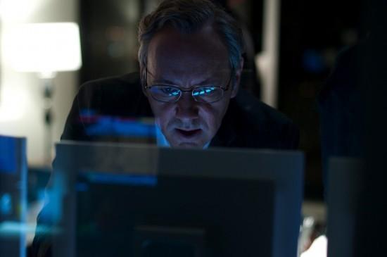 Kevin Spacey al computer in Margin Call