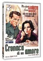 La copertina di Cronaca di un amore (dvd)