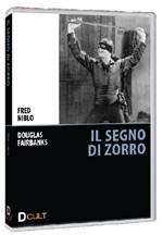 La copertina di Il segno di Zorro (dvd)