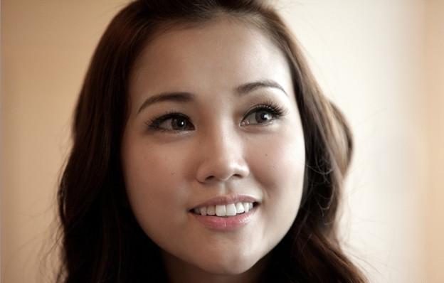 Kay Tse in un bellissimo primo piano tratto da Lover's Discourse