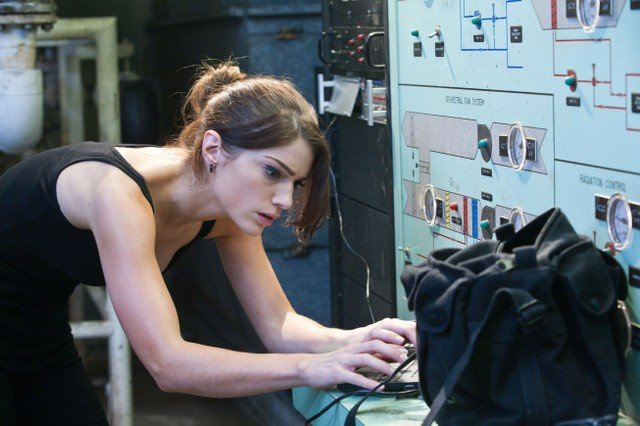 Janet Montgomery nell'episodio Taking Ames di Human Target